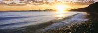Windan Sea Beach at Sunrise, La Jolla, San Diego County, California Fine-Art Print