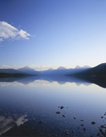 Lake McDonald and the Rocky Mountains, Glacier National Park, Montana Fine-Art Print