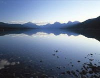 Lake McDonald and the Rocky Mountains, Montana Fine-Art Print