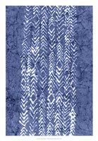 Indigo Primitive Patterns V Fine-Art Print