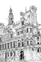 B&W City Scene VIII Fine-Art Print