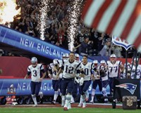 New England Patriots Team Introduction Super Bowl LI Fine-Art Print