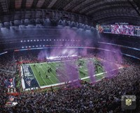 NRG Stadium after the New England Patriots won Super Bowl LI Fine-Art Print