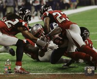 James White game winning touchdown Super Bowl LI Fine-Art Print