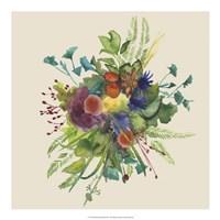 Watercolor Floral Spray III Fine-Art Print