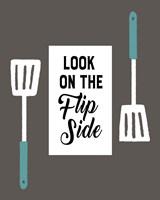 Retro Kitchen II - Look On The Flip Side Fine-Art Print