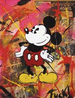 Happy Mickey Fine-Art Print