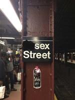 Sex Street Fine-Art Print