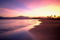 Beach sunset, Nadi, Fiji Fine-Art Print
