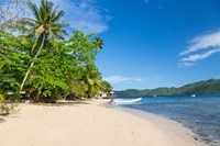 Matangi Private Island Resort Beach, Fiji Fine-Art Print
