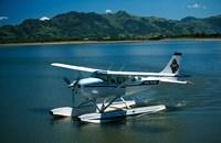 Floatplane, Nadi Bay, Fiji Fine-Art Print