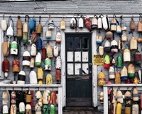 Fishing shack, Niantic, Connecticut Fine-Art Print