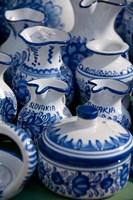Slovakia, Bratislava, souvenir pottery Fine-Art Print