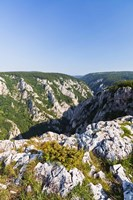 Gorge of Zadiel in the Slovak karst, National Park Slovak Karst, Slovakia Fine-Art Print