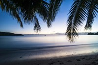 Sunset over the beach, Naviti, Yasawa, Fiji, South Pacific Fine-Art Print