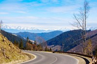 Mountain road in a valley, Tatra Mountains, Slovakia Fine-Art Print