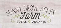 Sunny Grove Farm Fine-Art Print