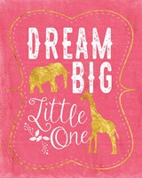 Dream Big - Pink Fine-Art Print