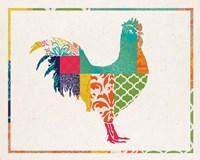 Boho Rooster Fine-Art Print