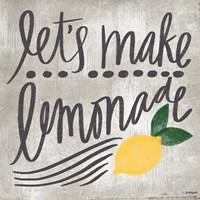 Let's Make Lemonade Fine-Art Print