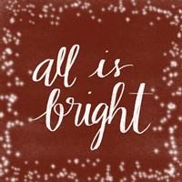 All is Bright Fine-Art Print