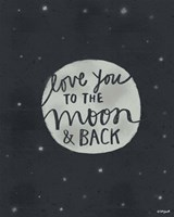 Moon & Back Fine-Art Print