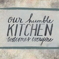 Humble Kitchen Fine-Art Print