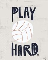 Volleyball Framed Print