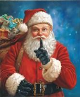 Shh Santa Fine-Art Print