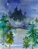 Watercolor Winter Fine-Art Print