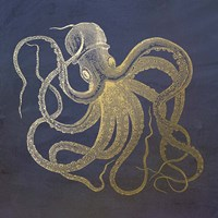 Golden Octopus Fine-Art Print