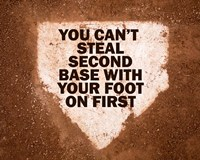 Second Base Fine-Art Print