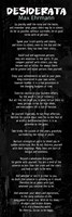 Desiderata In Black Fine-Art Print