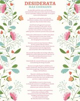 Decorative Desiderata Fine-Art Print