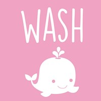 Sea Creatures-Wash Fine-Art Print