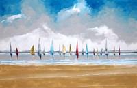 Boats III Fine-Art Print