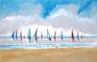 Boats V Fine-Art Print