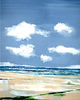 Seascape V Framed Print