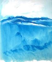 Seascape VI Framed Print