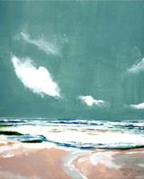 Seascape IX Framed Print
