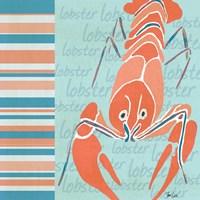 Nautical Lobster Fine-Art Print