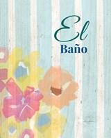 El Bano Fine-Art Print