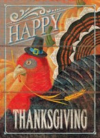Happy Thanksgiving Turkey Fine-Art Print