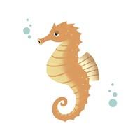 Sea Creatures - Seahorse Fine-Art Print