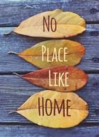 No Place Like Home Leaves Fine-Art Print