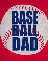 Baseball Dad In Red Fine-Art Print