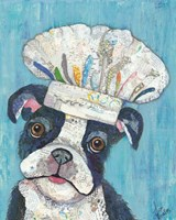 Chef Dog Fine-Art Print