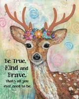 True Kind Brave Fine-Art Print