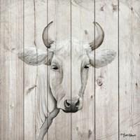 January Cow I Fine-Art Print