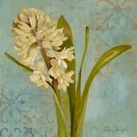Hyacinth on Teal I Fine-Art Print